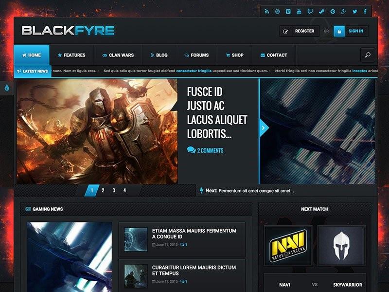 Blackfyre WordPress плагин