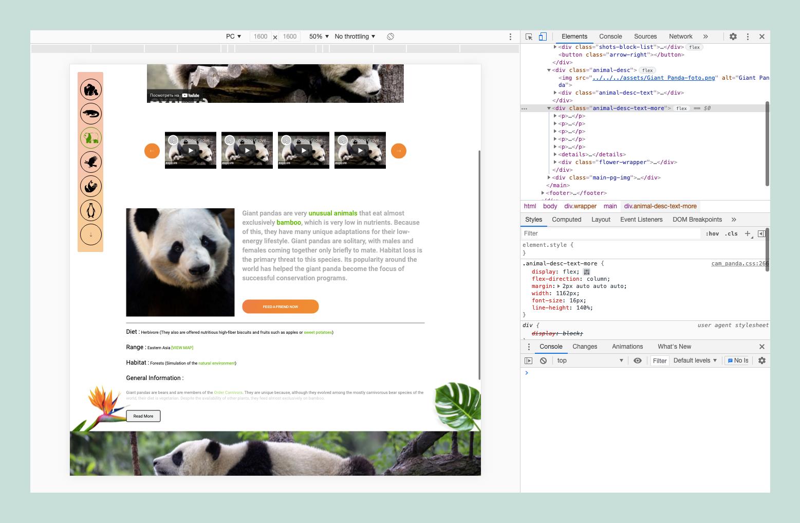 Редактор кода в Chrome WebTools