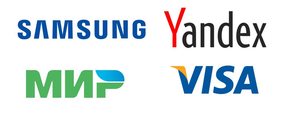 Примеры лого текстового типа