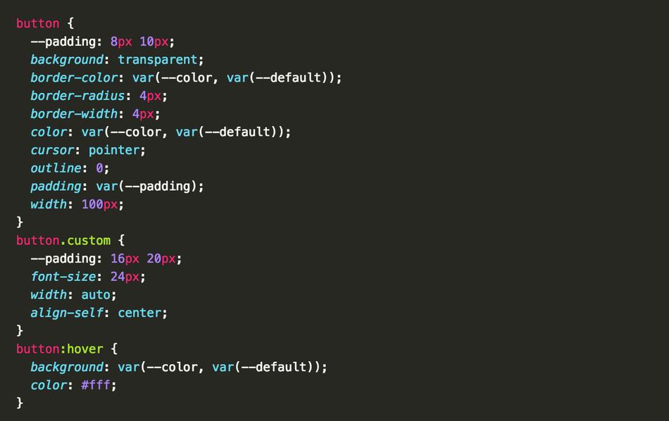 Использование языка CSS