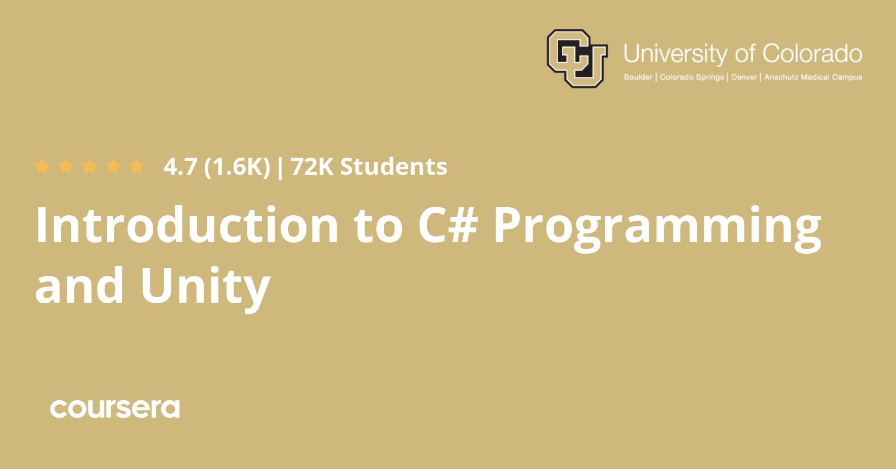 Лого курса по C# на Coursera