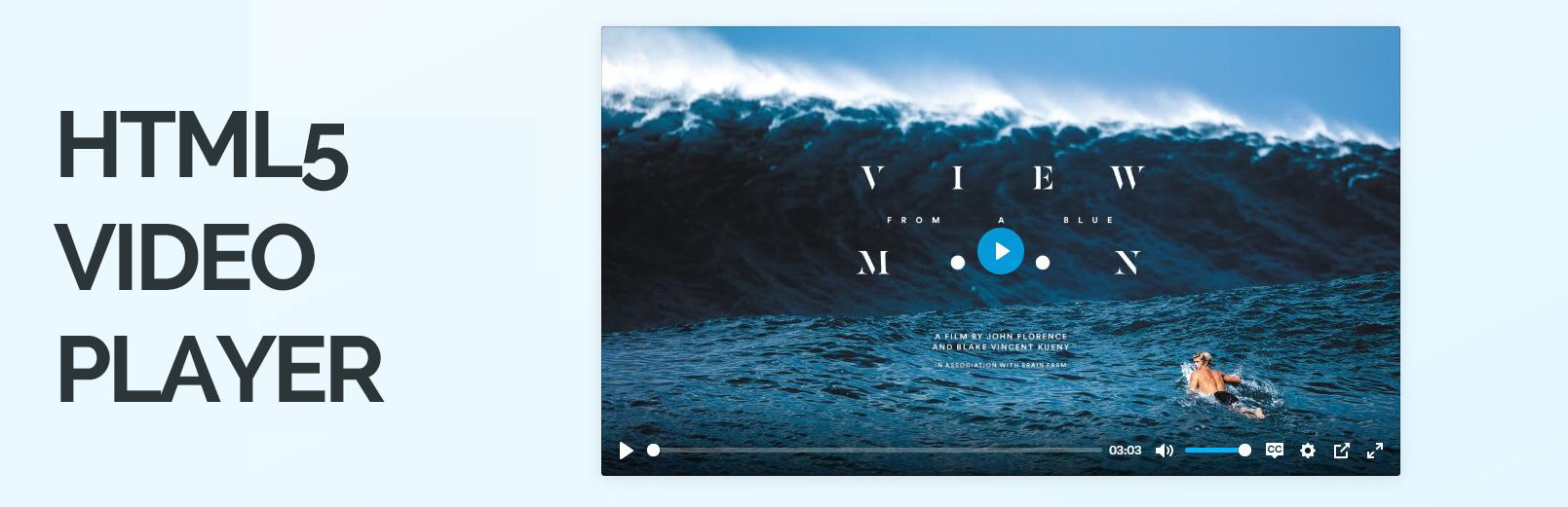 HTML5 Video Player видеоплагин для WordPress