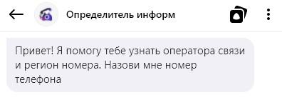 Как с помощью голосового ассистента Яндекса узнать информацию о номере