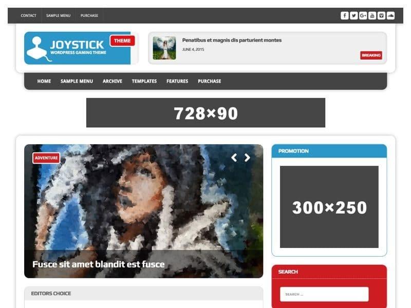 MH Joystick lite WordPress плагин