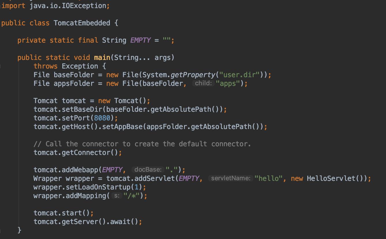 Пример Java-кода