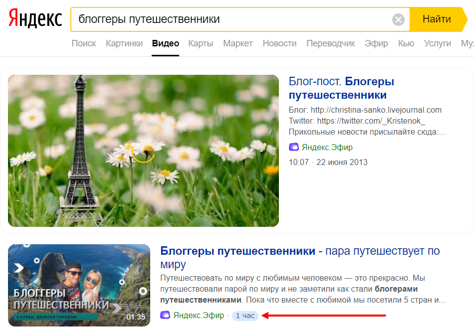 Топ поиска Яндекс
