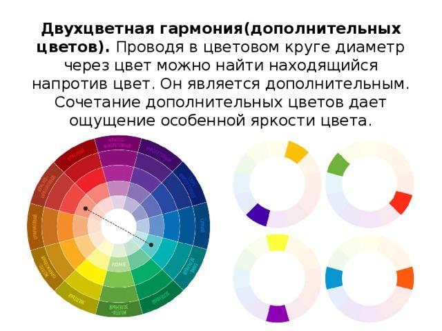 Двухцветная гармония