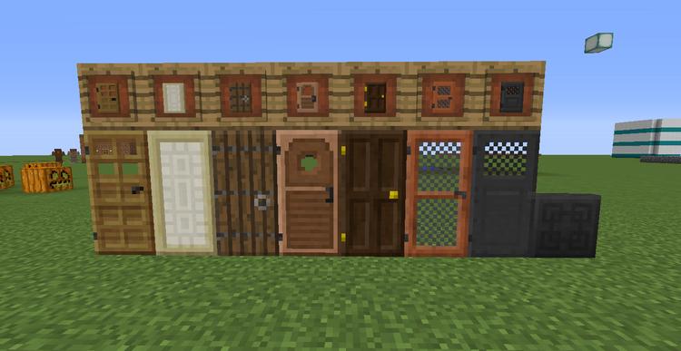 Приватизация дверей и других предметов на сервере в Minecraft