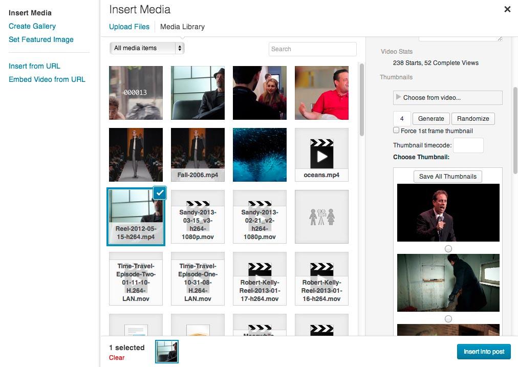 Video Embed & Thumbnail Generator видеоплагин для WordPress