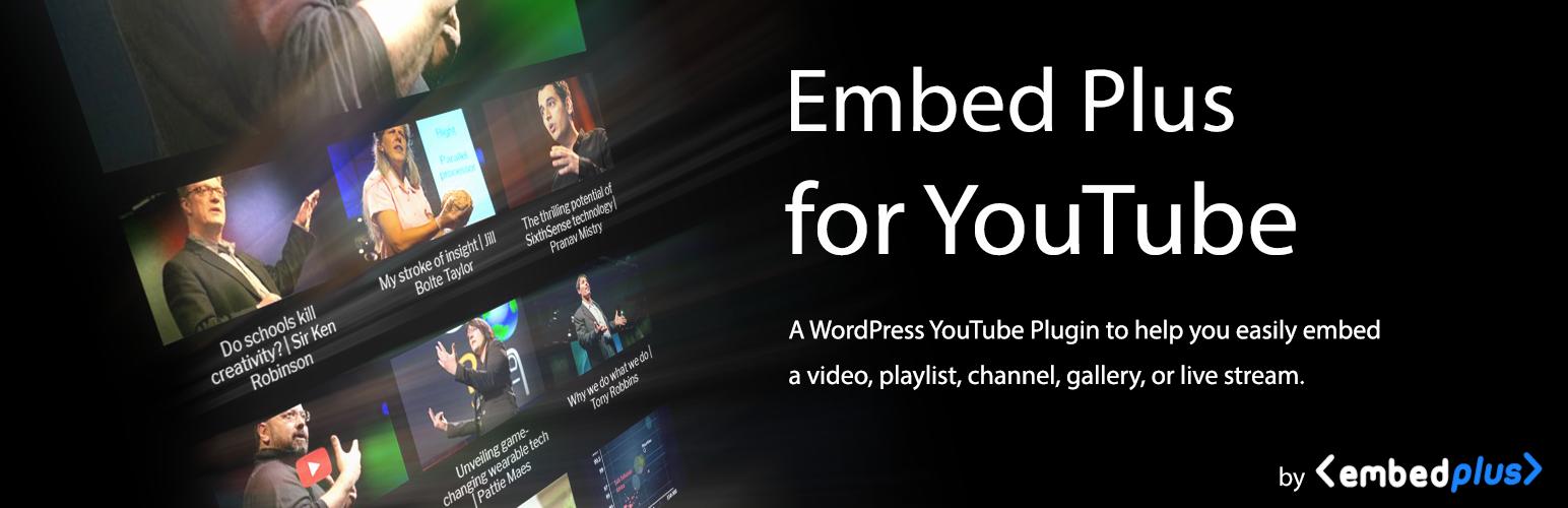 YouTube Embed видеоплагин для WordPress