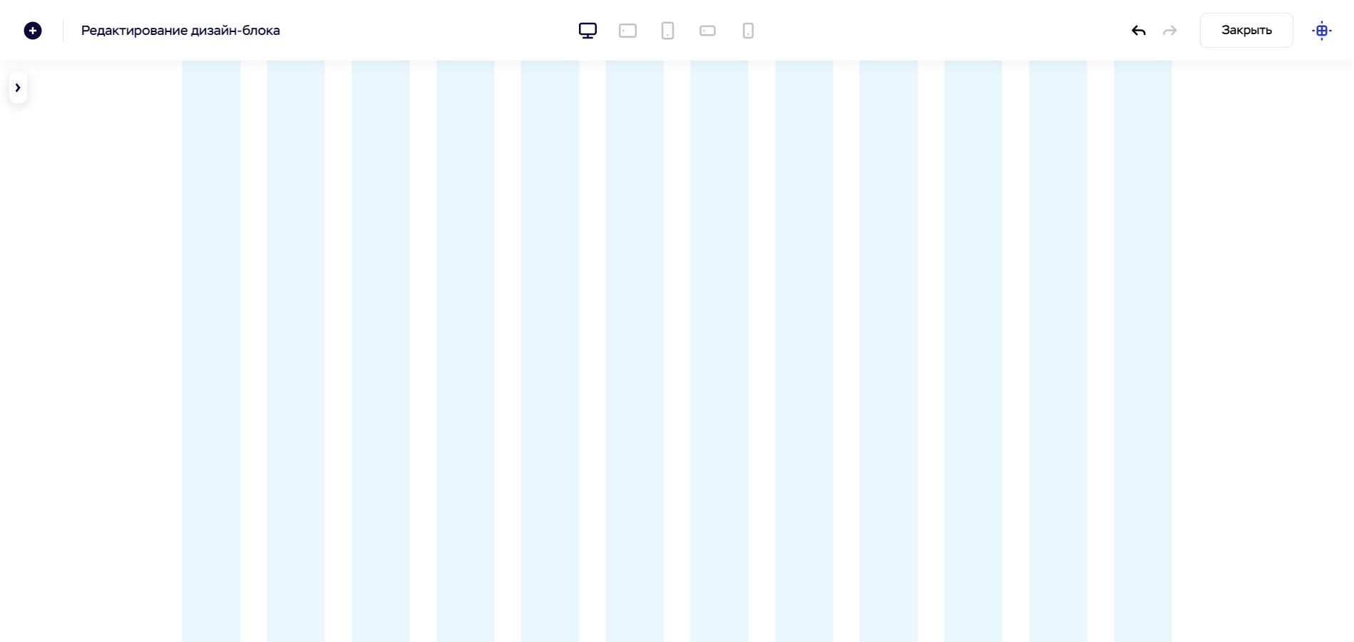 Создание сайта в дизайн-блоке Craftum