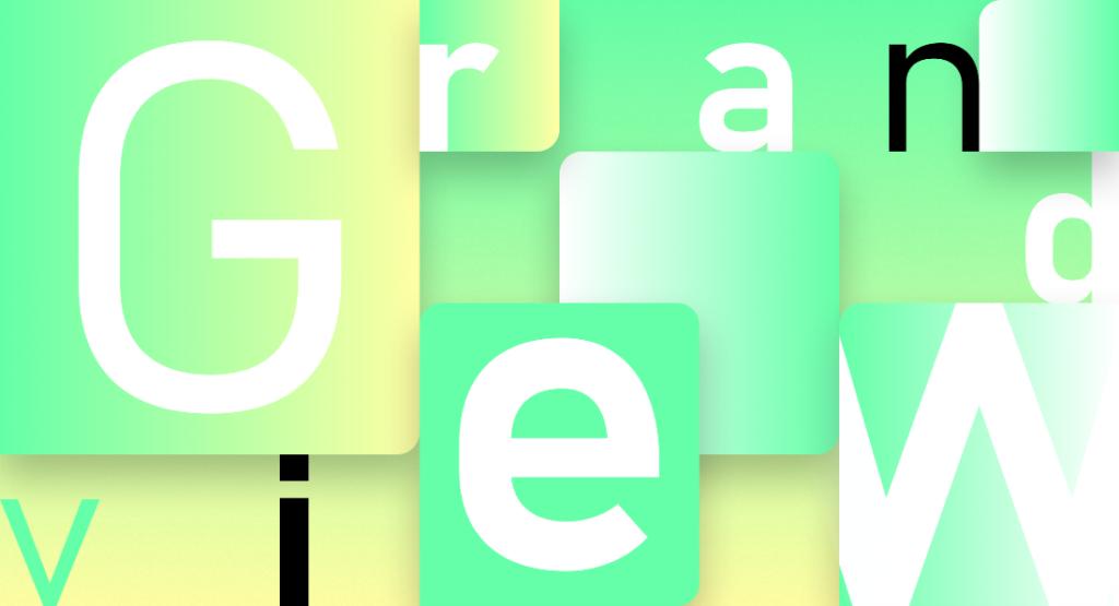 Шрифт Grandview