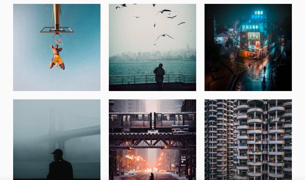 Снимки из профиля аггрегатора Street Vision