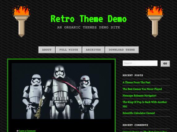90s Retro WordPress плагин
