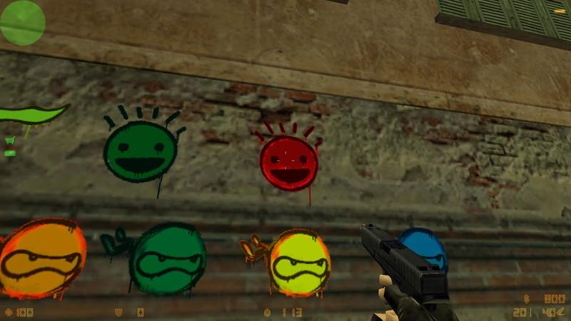 Скачивание плагина для использования граффити на сервере Counter-Strike 1.6