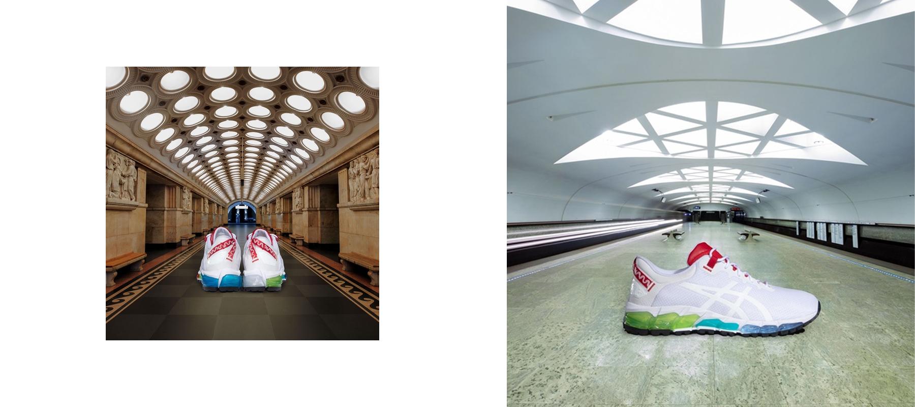 Московское метро и Asics