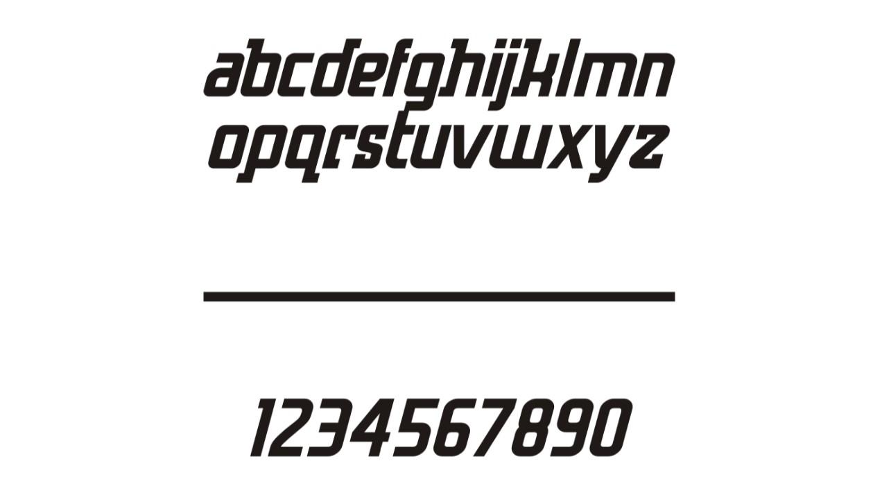 Как выглядит шрифт Hero и использование при разработке логотипов