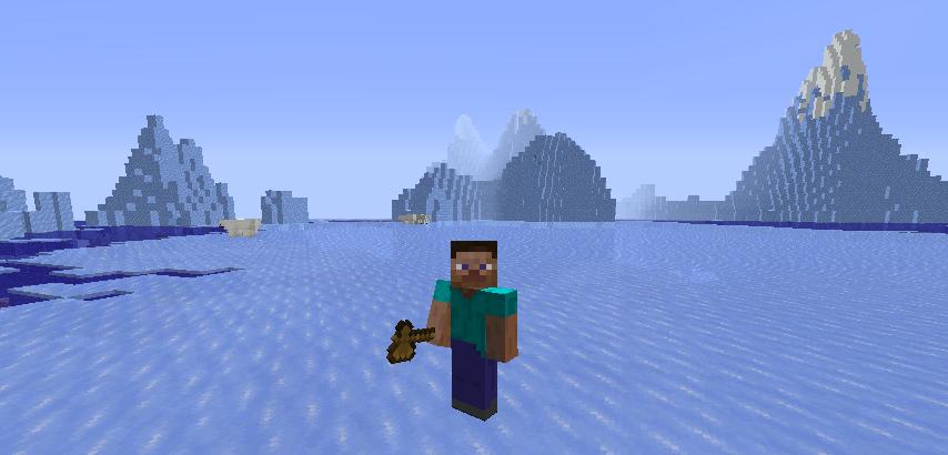 Выбор предмета для приватизации территории на сервере в Minecraft