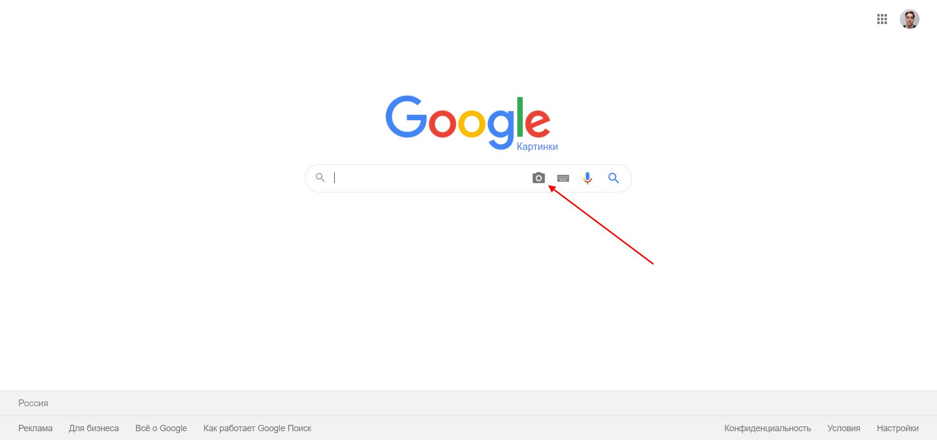 Как открыть поиск по картинке в Google