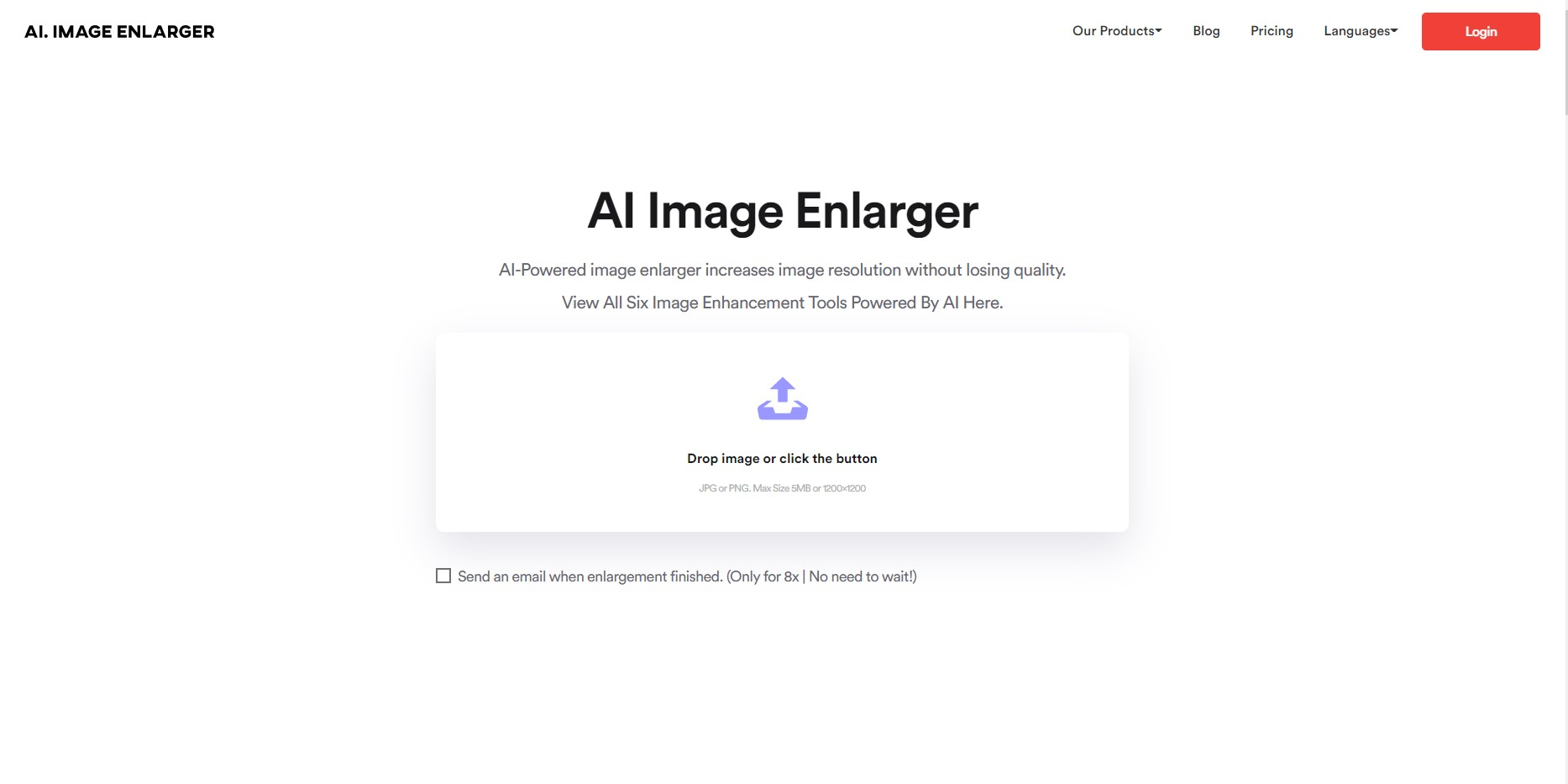 Сервис для улучшения фото
