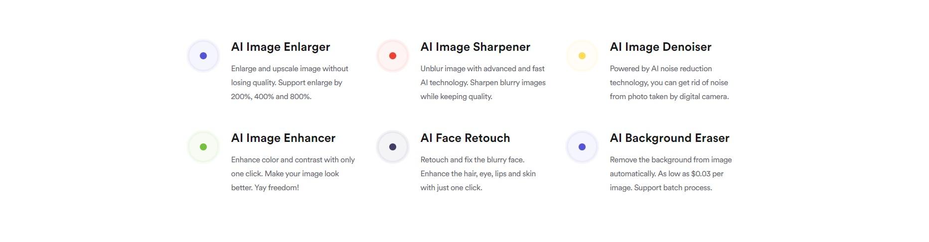 AI Image Enlarger продукты