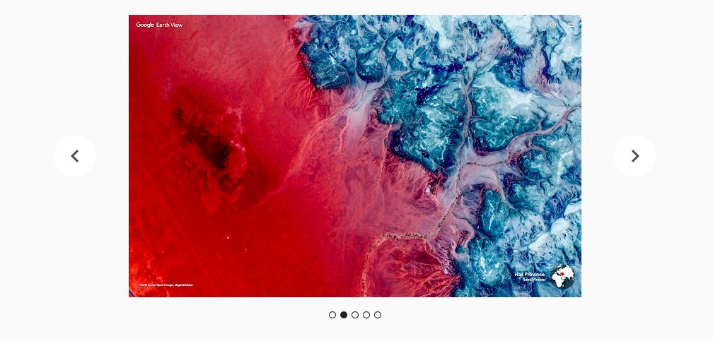Фото земли из дополнения Earth View