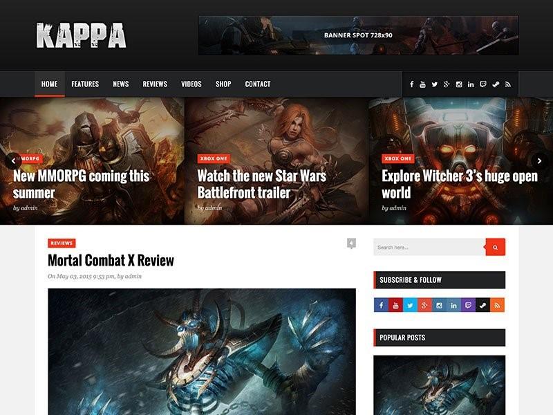 Kappa WordPress плагин