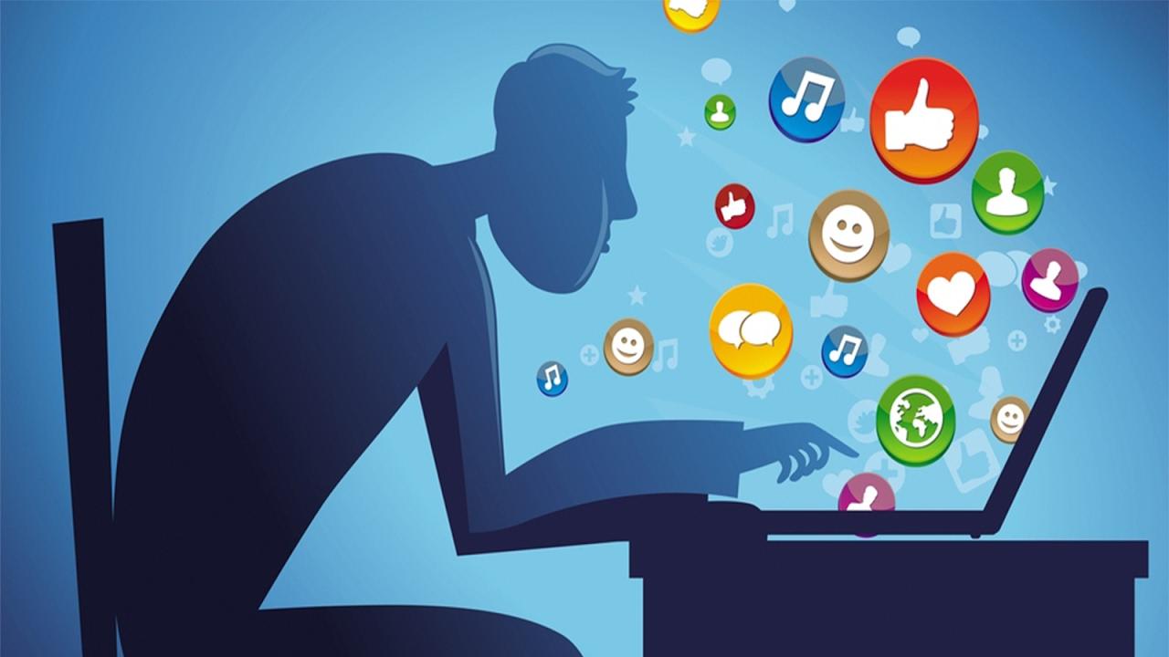 Общение в социальной сети