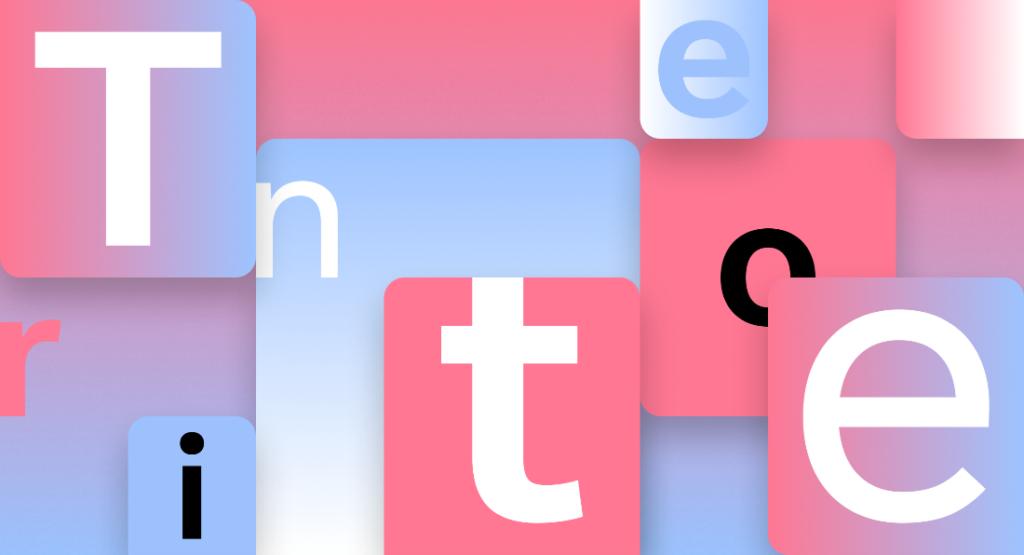 Шрифт Tenorite