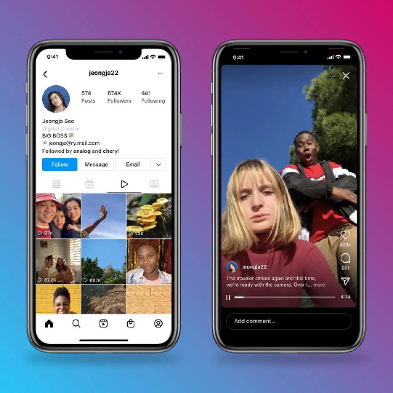 В Instagram появилась возможность публиковать часовые видео