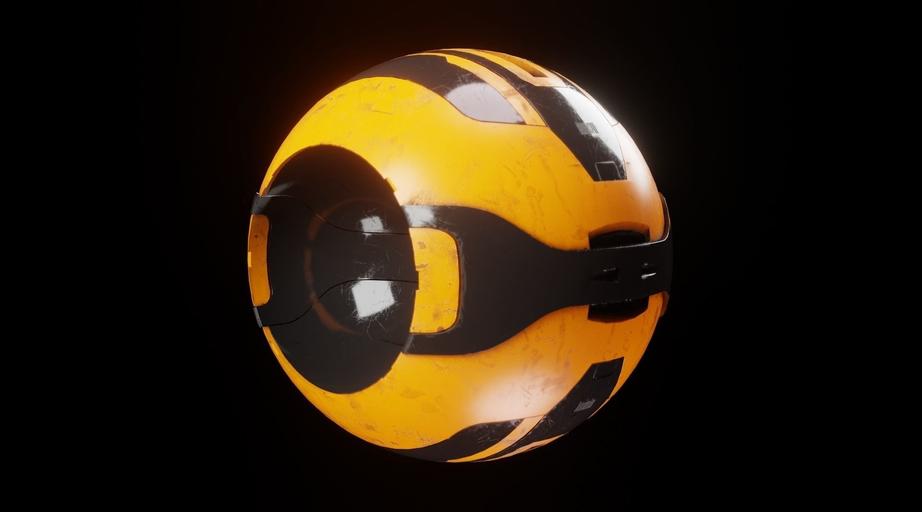 Представление объемного шара при ознакомлении с понятием 3D-графики