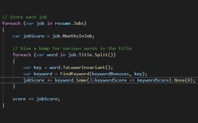 Пример С#-кода