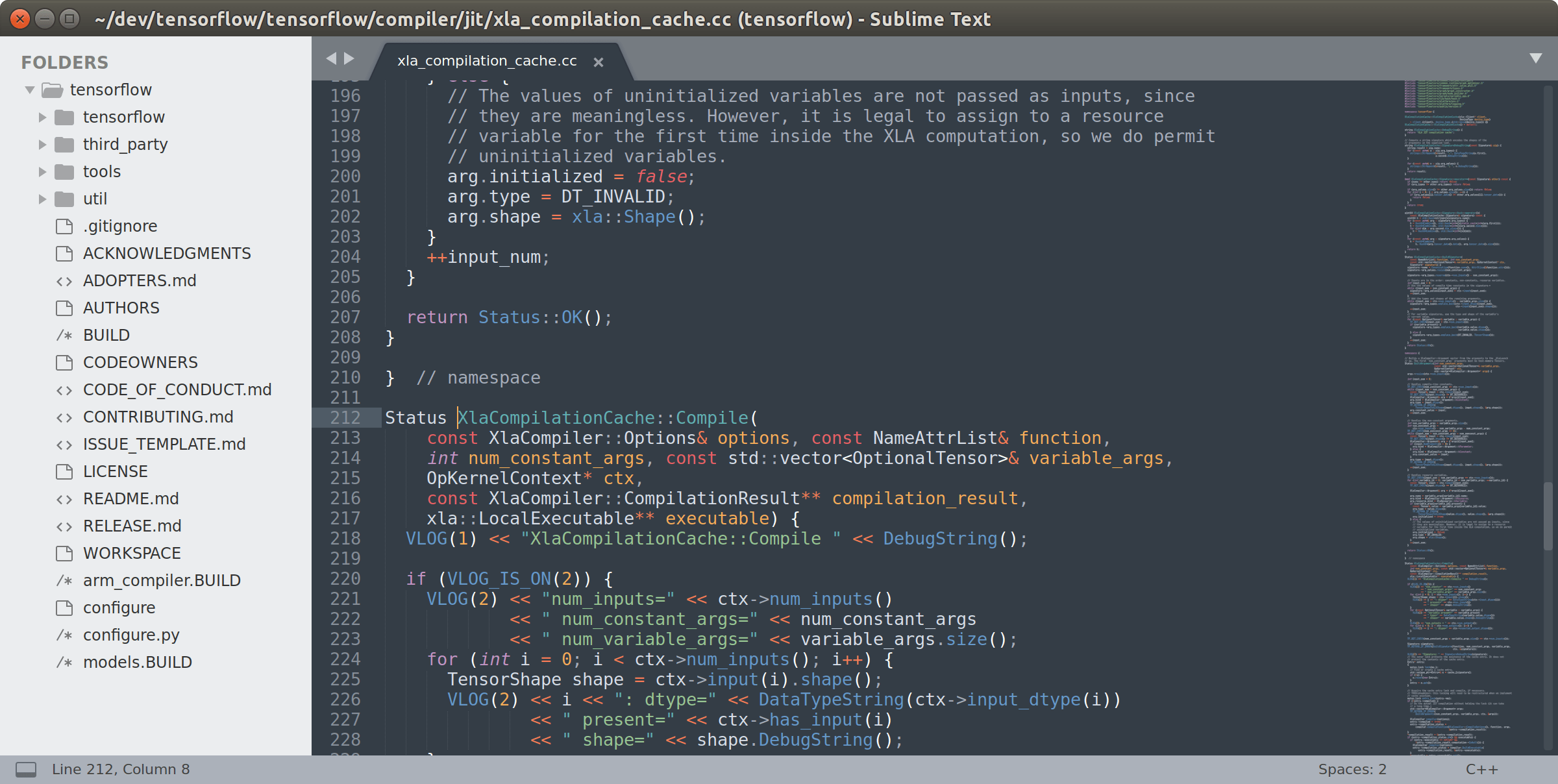 HTML-редактор Sublime Text