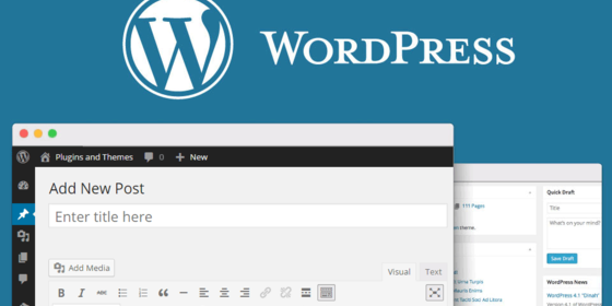 Wordpress блог