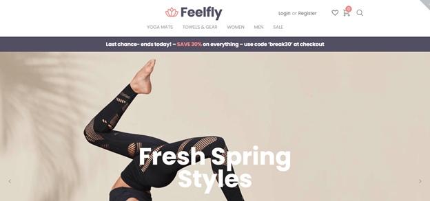 шаблон для интернет-магазина feelfly wordpress