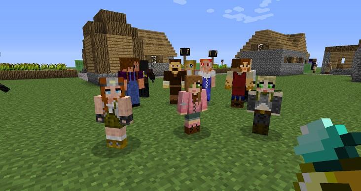 Minecraft Comes Alive – создаем семью с детьми