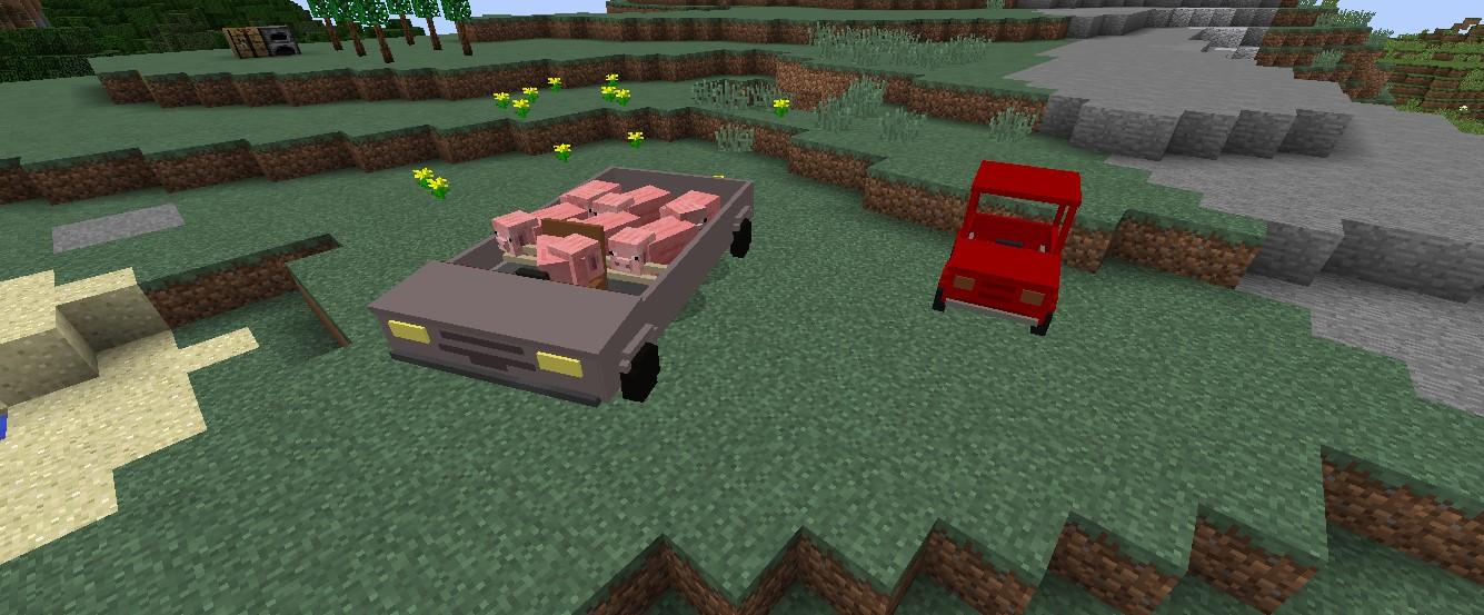Personal Cars добавляет в игру машины