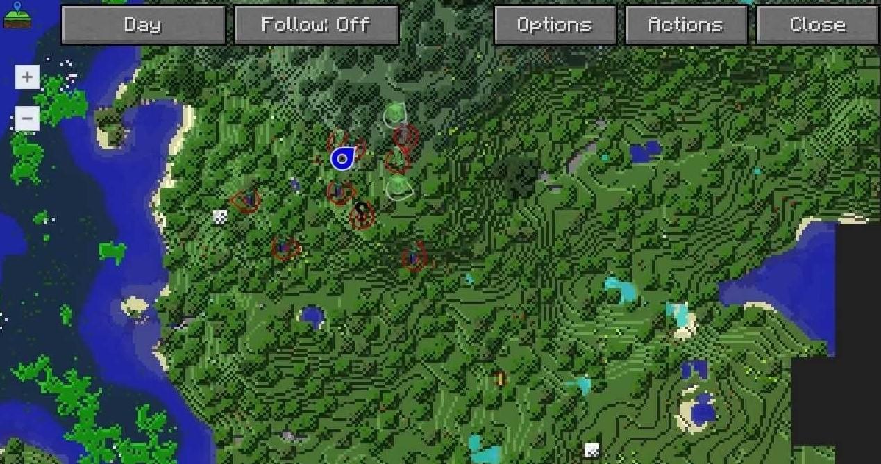 JourneyMap – карта для Minecraft